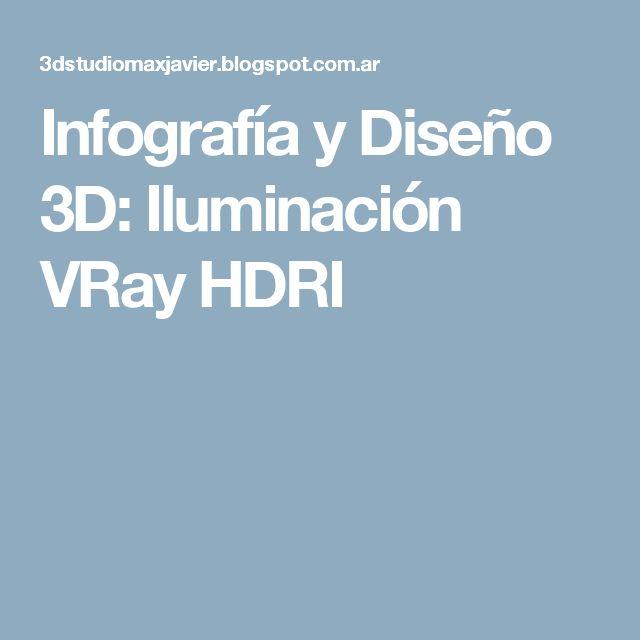 Infografía y Diseño 3D: Iluminación VRay HDRI