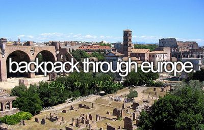 Justin and I will be doing this :) Thankfully Mal has made a lot of friends in Europe that we can stay with while we travel.