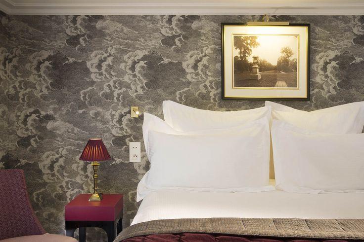 Papier peint Nuvolette  de Cole and Son- Hotel bourgogne-montana ( Paris 7) Fornasetti Nuvolette