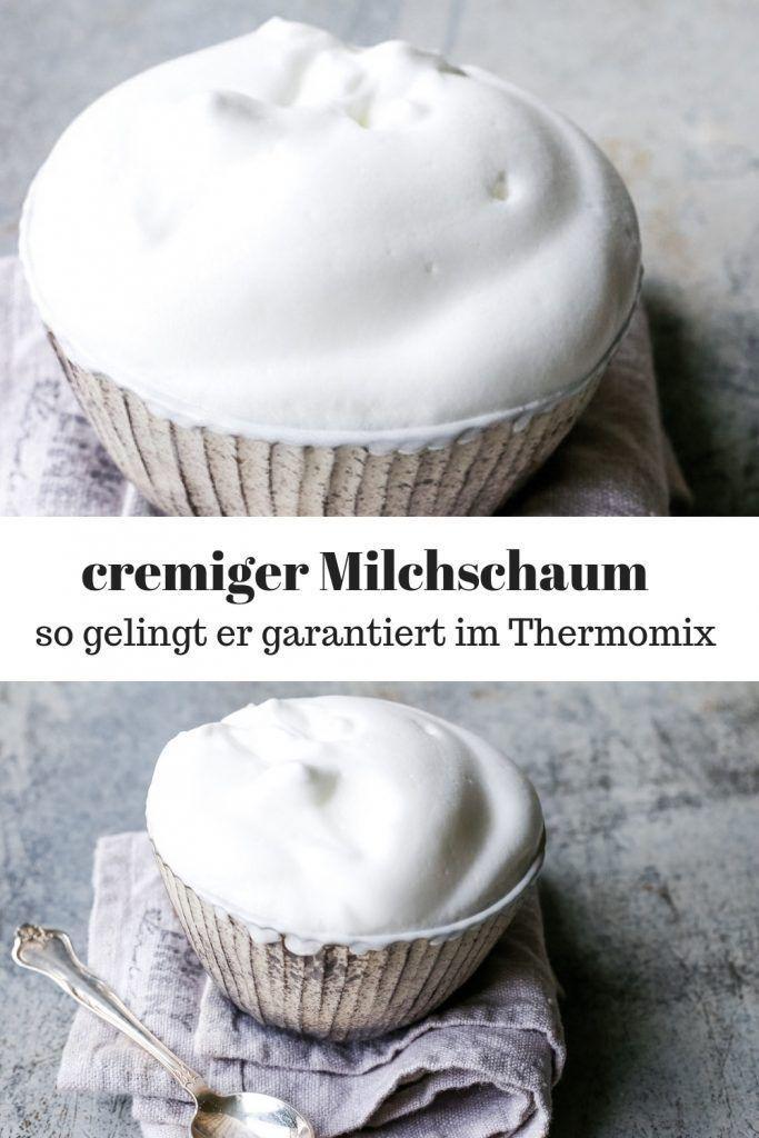 Milchschaum Thermomix – so gelingt der cremige Schaum garantiert