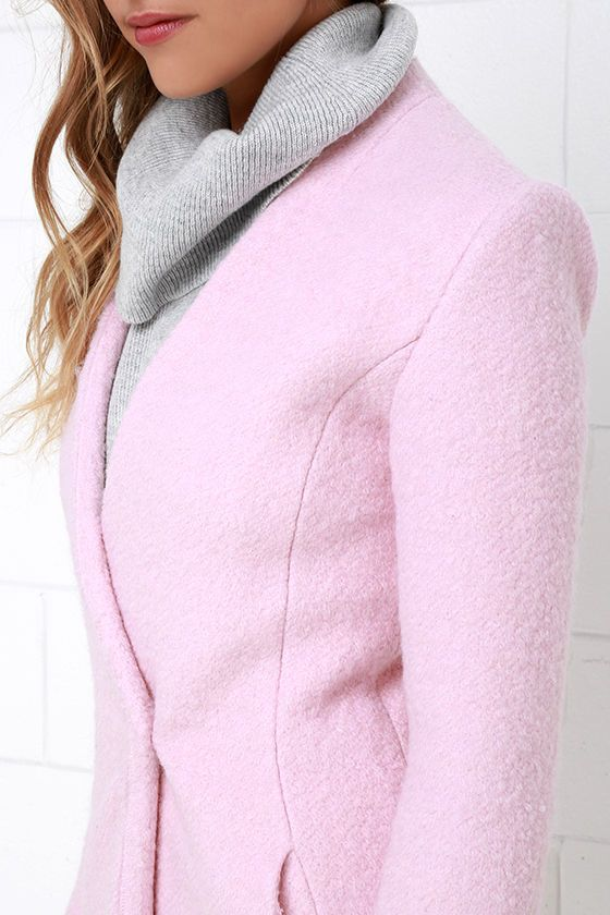 1000  ideas about Light Pink Coat on Pinterest | Coats Fall