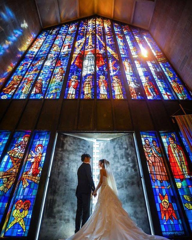 ハワイ・セントアンドリュース教会大聖堂♡ステンドグラスが圧巻の美しさ!チャペルでの結婚式おしゃれまとめ♡ウェディング・ブライダルの参考に♪