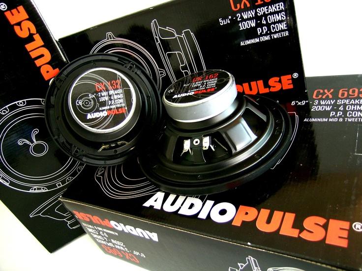 Packaging Design for Audio Pulse  Σχεδιασμός συσκευασίας Ηχοσυστημάτων αυτοκινήτων