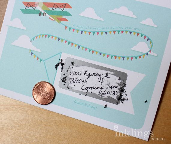 make your own baby announcement cards free