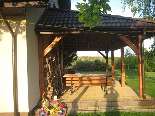 Taras w projekcie Słoneczny #ogród #taras #projekt