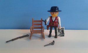 sympa  sheriff  3813  playmobil (  western , sudiste , cowboy    ) 6€