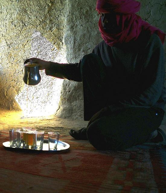 Desert tea time