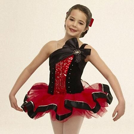 b429f616f Leotard Professional Tutus Korean Children Dance Costume Tutu Skirt ...