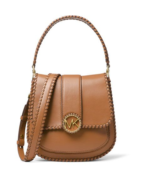 098c23153df7 Lillie Medium Leather Flap Crossbody Messenger Bag by MICHAEL Michael Kors  at Neiman Marcus