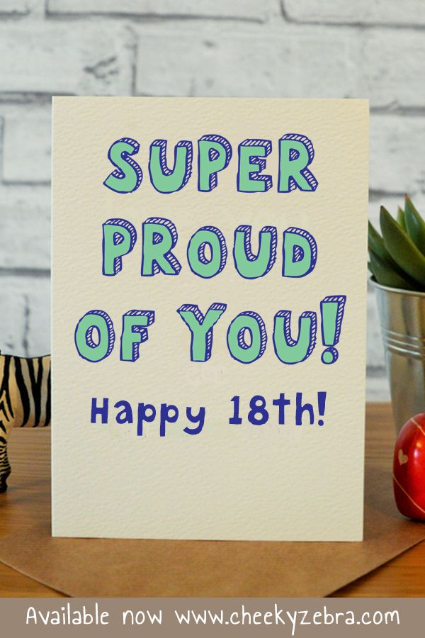 18th Birthday Card Is The Perfect Gift For Your Friend Boyfriend Nephew Son