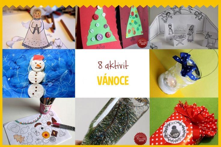 Speciální výběr toho nejlepšího vánočního tvoření. Tvoření z papíru, výroba přáníčka, cedulek na dárky nebo diy sněžítka.