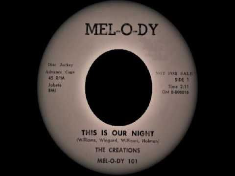 The Creations - This Is Our Night
