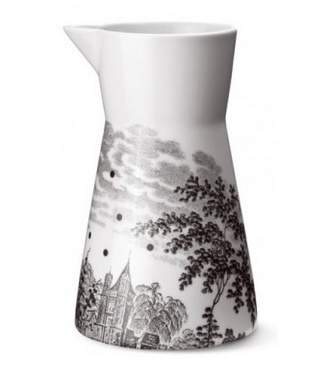 'Ruth M landscape' pitcher in brown, $98