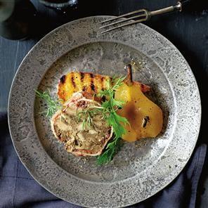 Pork terrine with pickled pears Recipe | delicious. Magazine free recipes