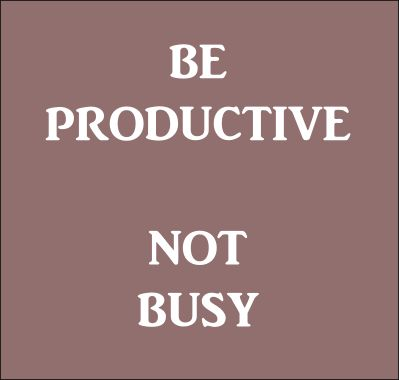 Be productive! #newscastleinteractive