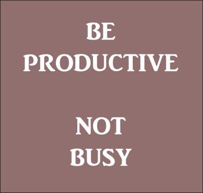 Be productive! #newscastleinteractive