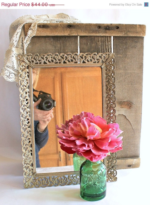 17 best images about vanity on pinterest dressing mirror for Silver framed mirrors on sale