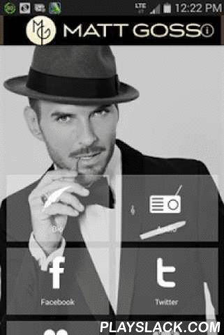 "Matt Goss  Android App - playslack.com ,  Download the new Matt Goss Mobile App to stay connected and receive exclusive communications, offers and opportunities to interact with Matt Goss right to your mobile phone.Life You Imagine, Matt Goss's highly anticipated solo album, is the classy, swinging sound of ambition, passion, and the realisation of 27 years' experience in the music industry. If Goss's pop career hit an early peak with ""I Owe You Nothing"" and ""When Will I Be Famous"", the…"