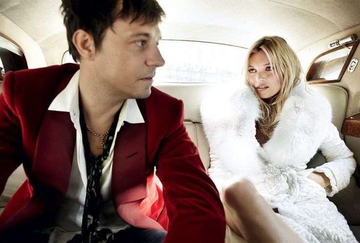 Kate Moss Wedding - Jamie and Kate channel a modern-day Mick and Bianca Jagger, re-creating the couple's 1971 backseat wedding portrait.
