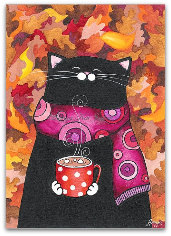Cats & Coffee by Annya Kai
