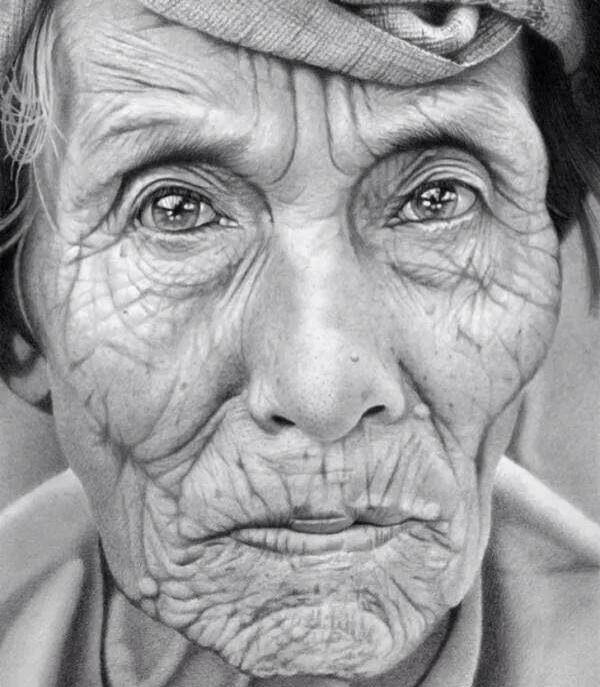 Incroyable portrait dessin