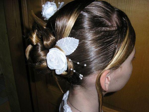 Mundo de La Moda: peinados para primera comunion