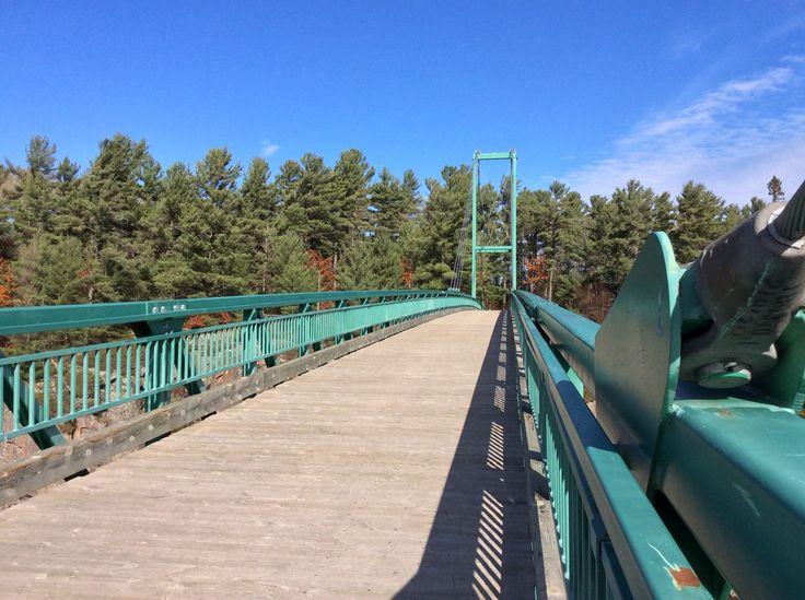 Recreation Bridge over French River
