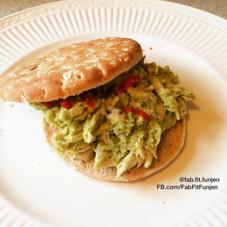 Fab Fit FunJen: Guacamole Chicken Salad