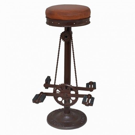 Bar Stools With Bike Pedals