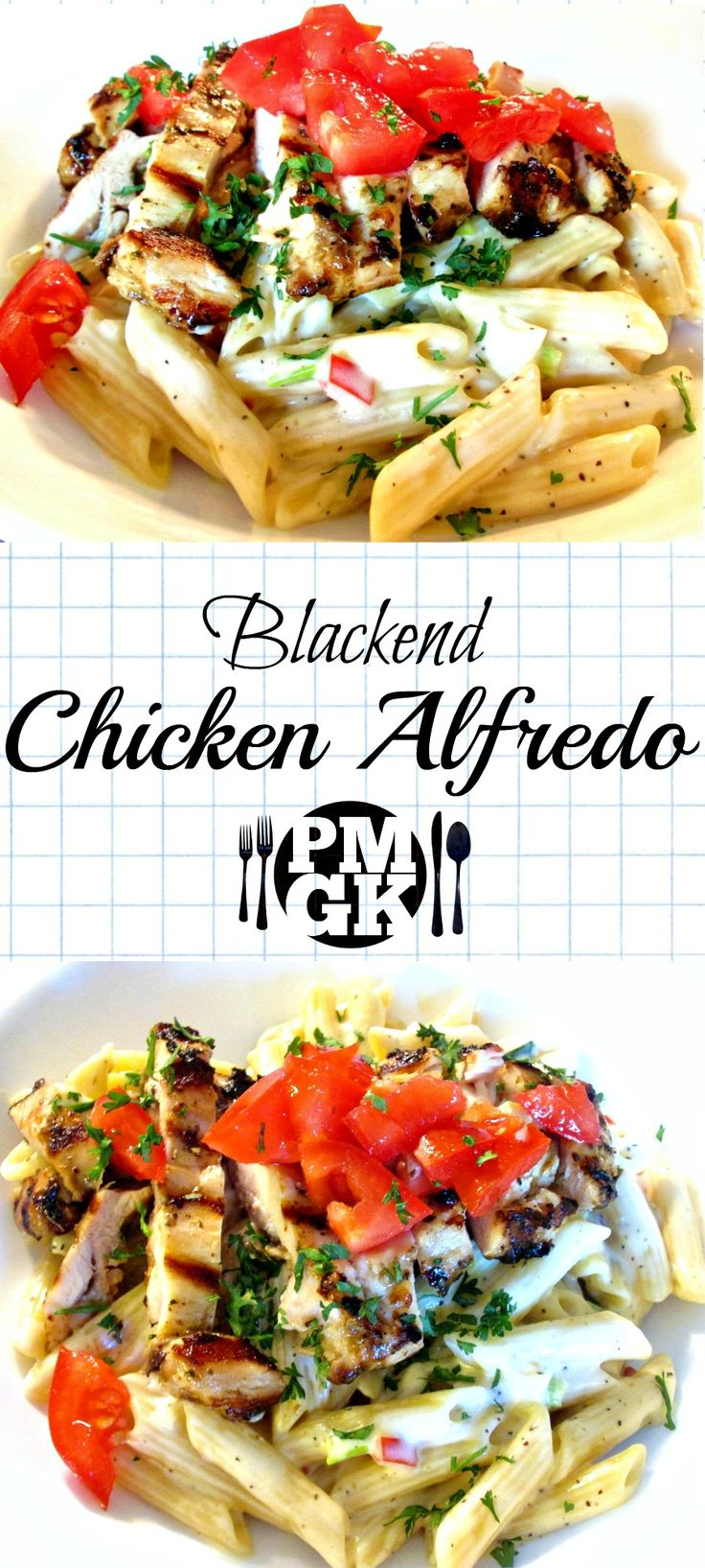 This Blackened Chicken Alfredo recipe is one of my all time favorites.  A local Restaurant here serves this on their menu and now I'm showing you how to make it your self, so be sure to watch my short video tutorial and I'll take you straight to making this dish.  Poor Man's Gourmet kitchen