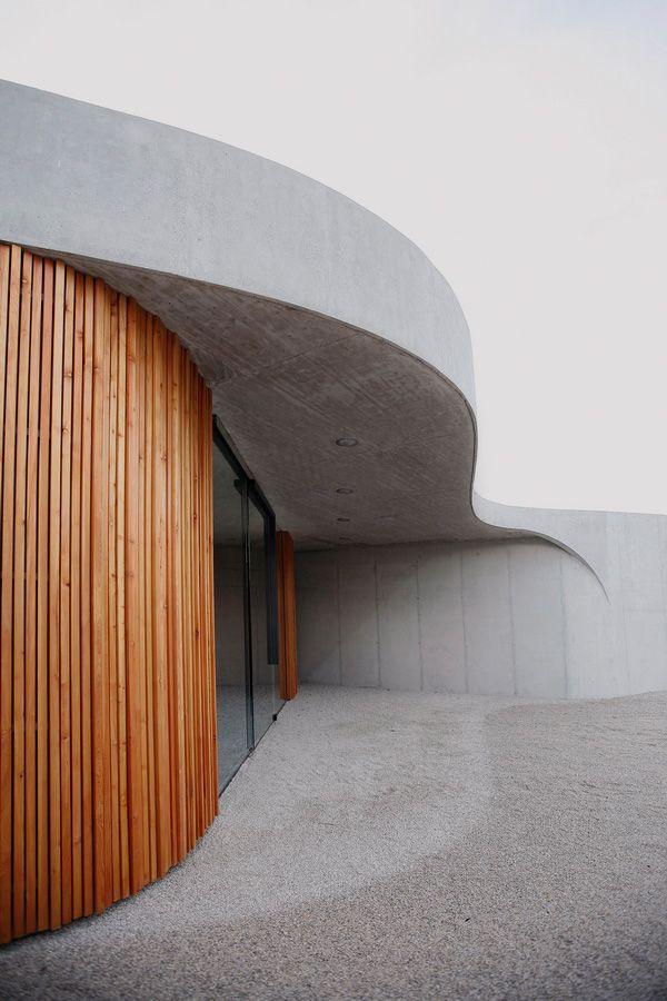 Farewell Chapel | OFIS Arhitekti #concrete #architecture