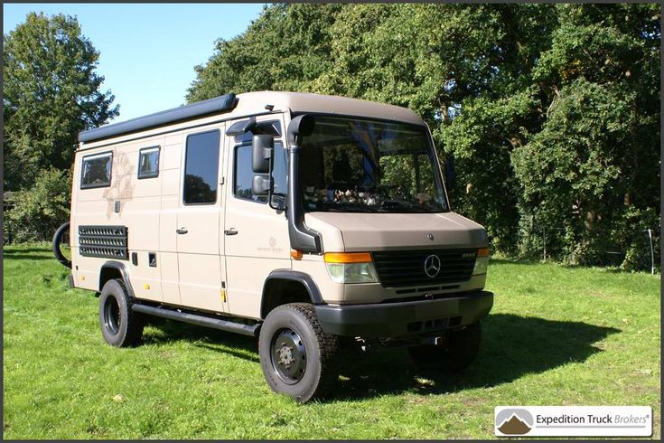 Mercedes Vario 4x4 Expedition Camper Van