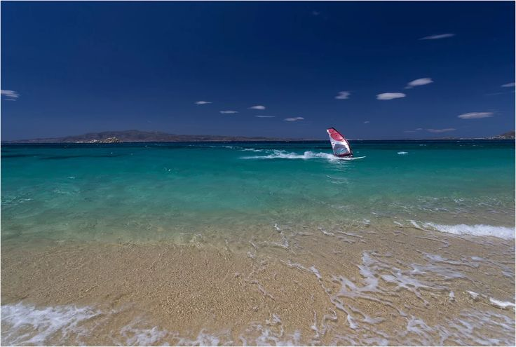 Mikri Vigla beach, Naxos island, Greece