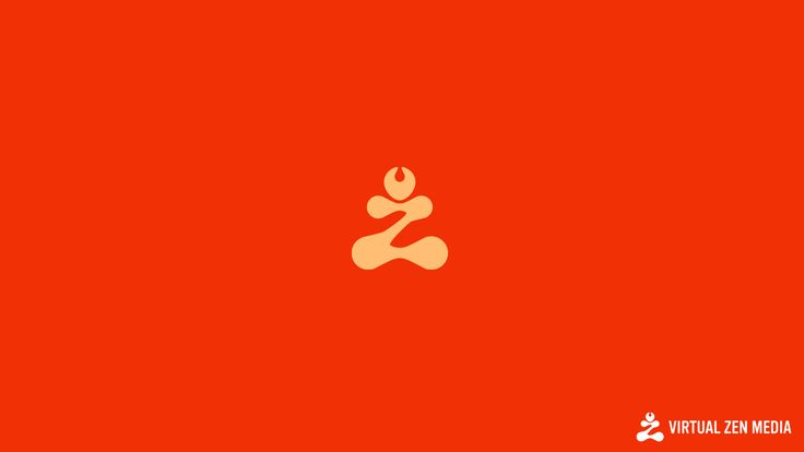 A Logo Sold to virtual zen media. Meditating man if you couldn't tell :P