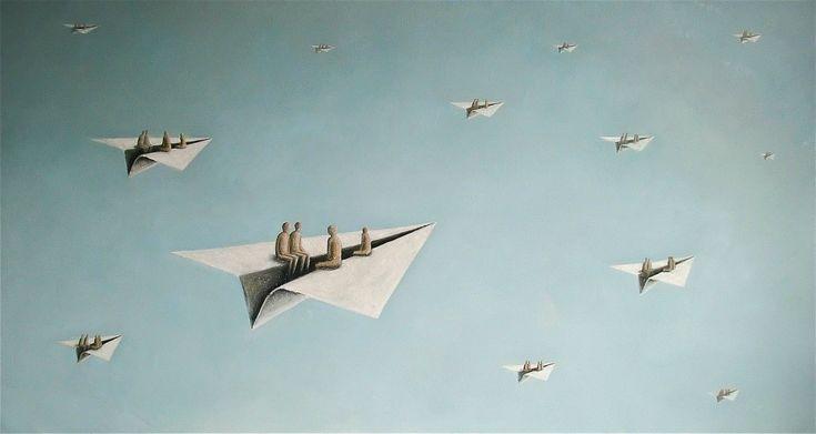 "Tom Erik Andersen ""Towards Pleasure"" 2015, Acrylic on canvas"