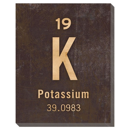 Positively perfect potassium poster. Priceless!