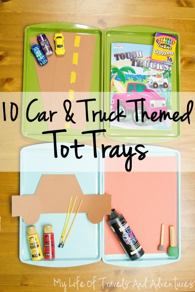 Car & Truck Tot Trays