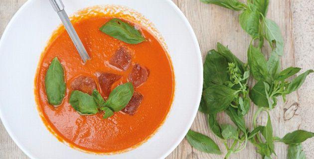 Gazpacho - eine kalte Gemüsesuppe aus Spanien