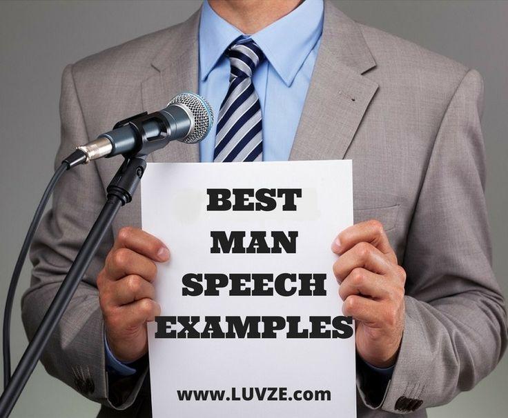 25 best ideas about Best man speech template – Freedom of Speech Example Template