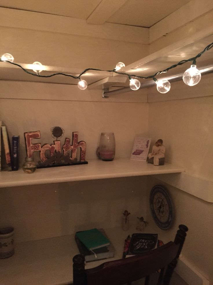 "Prayer closet ""war room"""