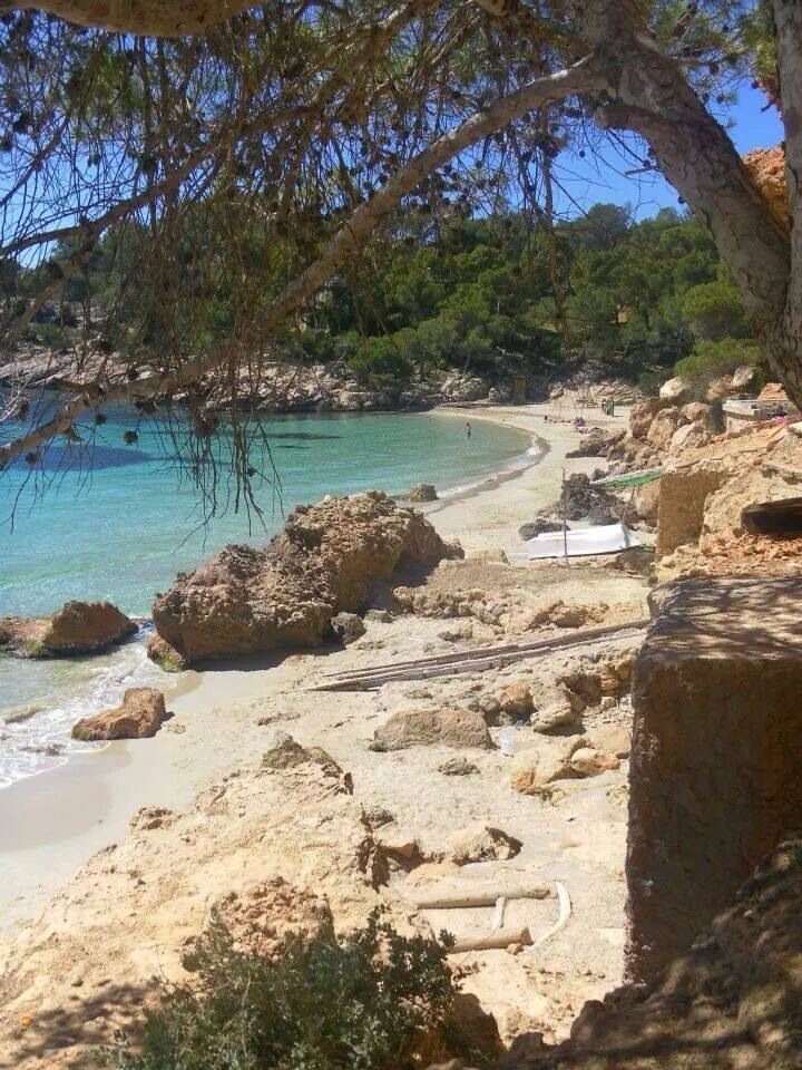 Cala Saladeta, Ibiza, Spain. #LaOtraCaraDeIbiza