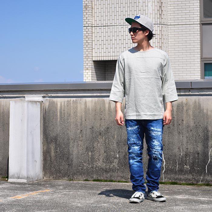【楽天市場】オーディエンス Audience シャツ Tシャツ麻ツイル ヘムラウンド サドルショルダー7/SオーバーサイズシャツTEE ロング丈 7分袖 メンズ AUD1887:firstadium