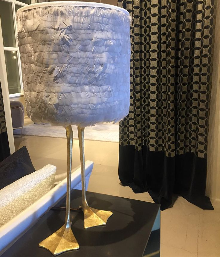 Spotted this whimsical & funky table lamp at the @Donghia_inc showroom @sanfranciscodesign ! - - - #whimsy #feathered #aesthetic #style #classic #eclectic #interiors #luxury #interiordesign #designer #lifestyle #society #textiles #furniture #glam #edgy #modern #luxe #birdlamp #luxlife #titan #titanintuitive #posh #avantgarde #evocative #expression #art #artistic