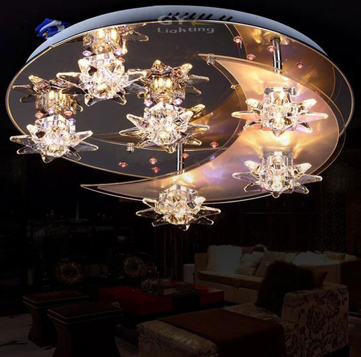 Cheap Led Crystal Ceiling Light Buy Quality Directly From China Suppliers Remote Control LED Lights