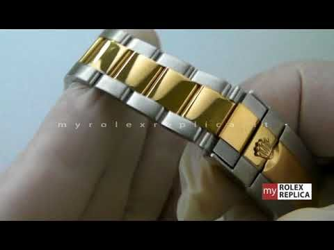 Video del Rolex Submariner Date Quadrante Blu Acciaio e Oro Swiss Eta