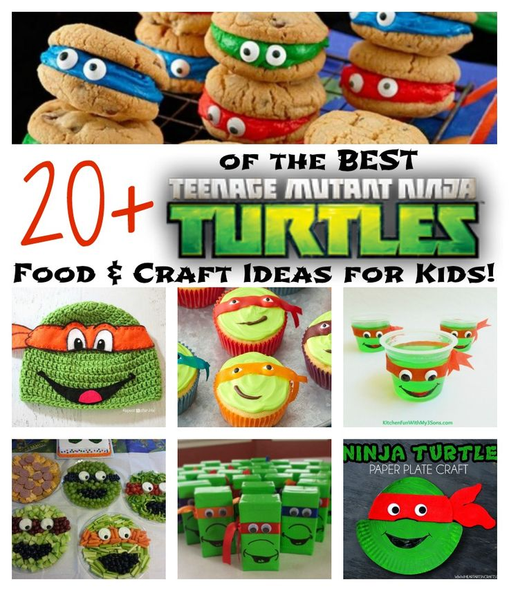 My boys have always loved TMNT & we have gathered up Over 20 of the BEST Teenage Mutant Ninja Turtles Fun Food & Craft Ideas for Kids to share with you today! These are awesomeideas for fun after school snacks, lunches, parties, & treats that your little Ninja Turtle fans are going to love! Easy...Read More »