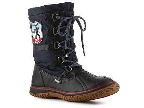 Love the sporty look.  Pajar Grip Low Snow Boot | DSW