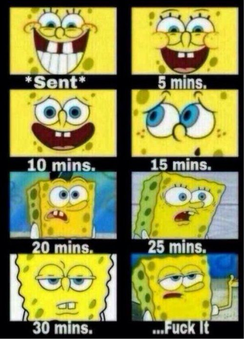 When texting your crush