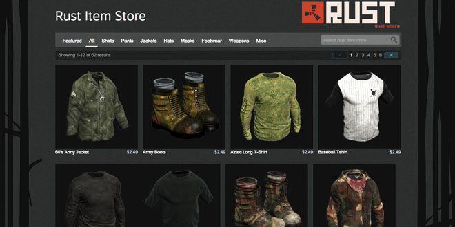Item Stores, la tienda de objetos descargables de Steam http://j.mp/1MRLQMJ |  #IntemStores, #Rust, #Steam, #Valve, #Videojuegos