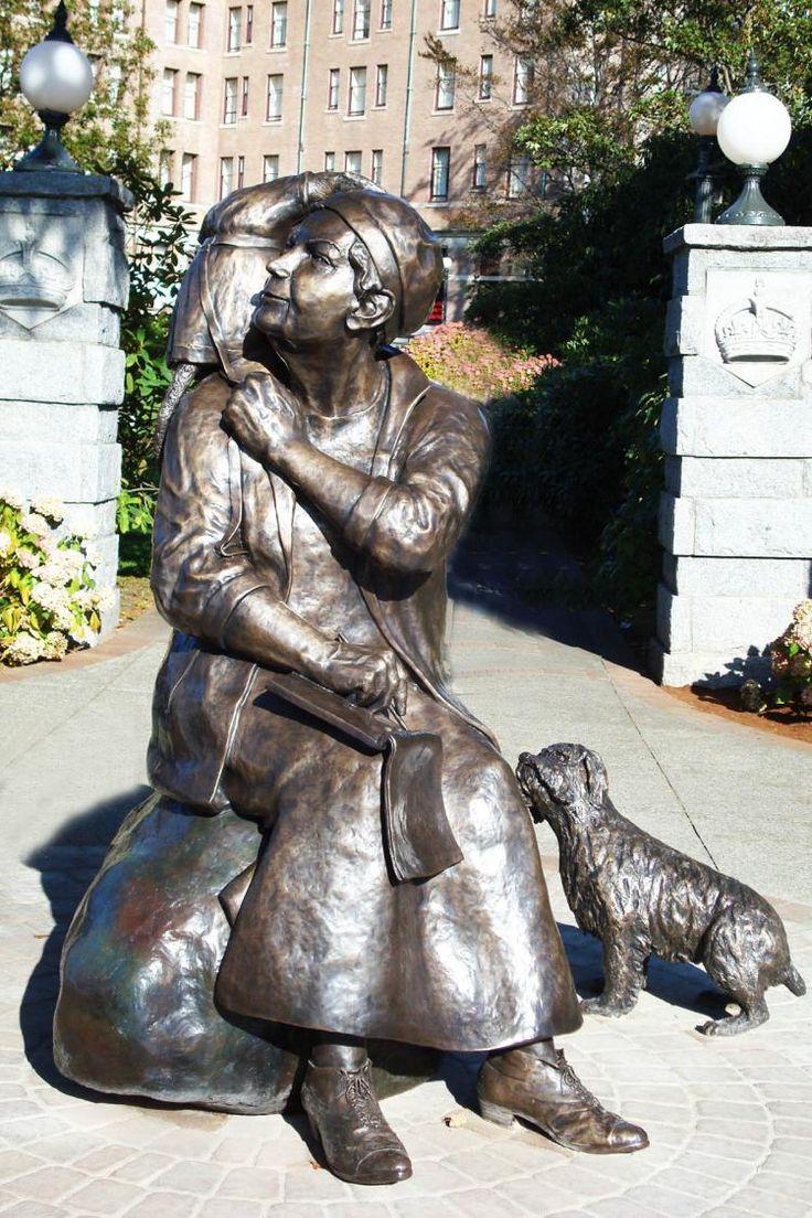 Emily Carr Sculpture, Victoria, BC
